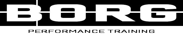 BORG Performance Training Logo